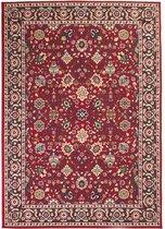 vidaXL Tapijt Oriental Perzisch ontwerp 160x230 cm rood/beige