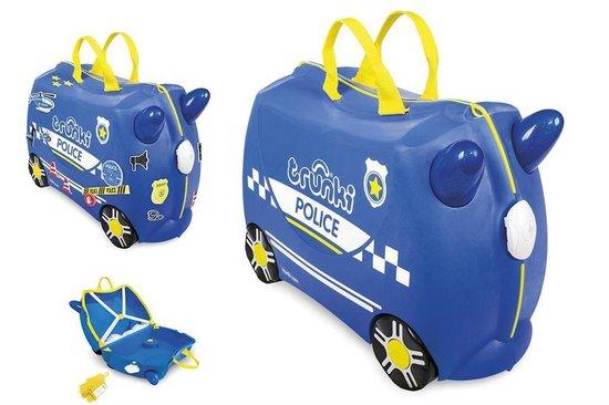 Trunki Ride-on Handbagage koffer 46 cm - Politiewagen - Trunki