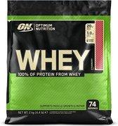 Optimum nutrition ON Whey-Aardbei-2000 gram