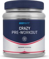 Body & Fit Crazy Pre-Workout - 407 gram (37 doseringen) - Raspberry Sensation