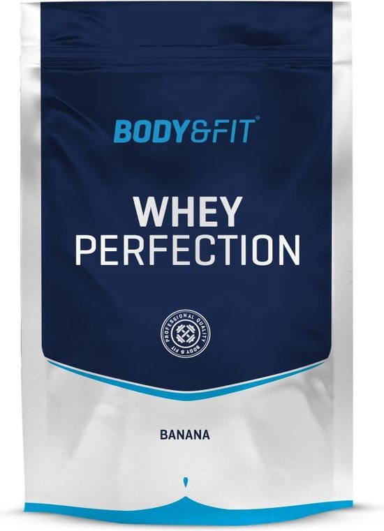 Body & Fit Whey Perfection - Whey Protein / Proteine Shake - 750 gram - Banaan