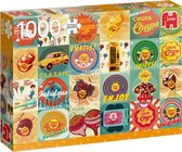 Chupa Chups Vintage Premium Collection Puzzel 1000 Stukjes