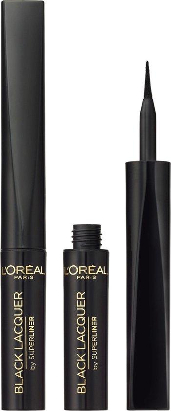 L'Oréal Paris Super Liner Lacquer Eyeliner - Zwart