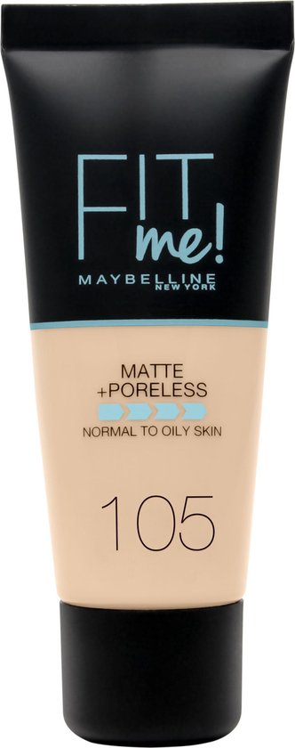 Maybelline Fit me Matte & Poreless Foundation - 105 Natural Ivory