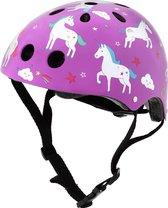 Mini Hornit Lids Fietshelm voor Kinderen - Unicorn (S)