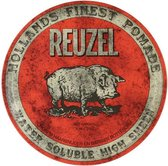 Reuzel Red Pomade Haarwax - Water Soluble - High Sheen - 340 gr