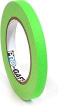 Pro Gaff neon gaffa tape 12mm x 22,8m groen
