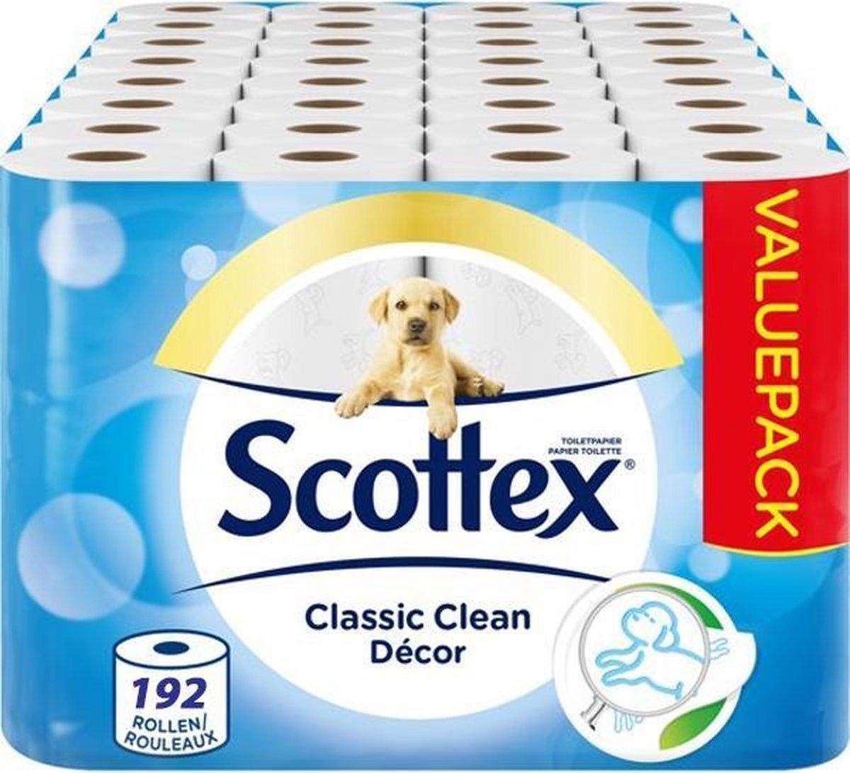VOORDEELVERPAKKING 192 ROLLEN Page / Scottex 2-Laags WC papier