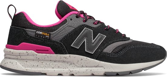 New Balance Sneakers – Maat 36 – Vrouwen – zwart/roze/grijs