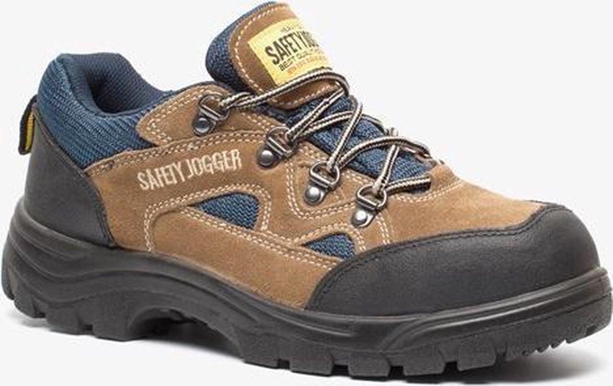 Safety Jogger X20202P leren werkschoenen S3 Bruin Maat 47