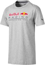 PUMA Red Bull Racing Logo Tee Shirt Heren - Light Gray Heather - Maat M