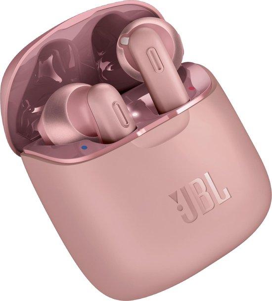JBL Tune 220TWS – Volledig draadloze oordopjes- Roze