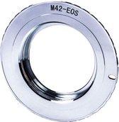 Adapter M42-EOS Pro: M42 Lens - Canon EOS mount Camera