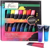 Acrylverf Set - 18 Delig - 36ML | Acrylic Paint Set