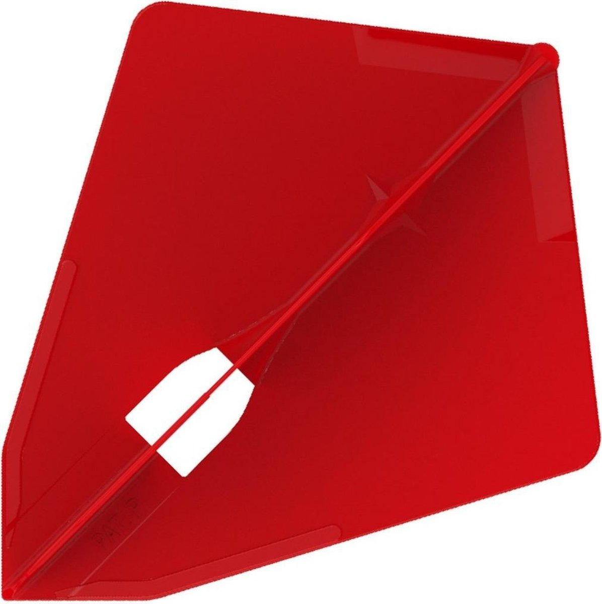 L Style Champagne Dart Flights Astra Rood