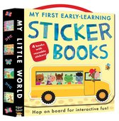 Boek cover My First Early-Learning Sticker Books van Jonathan Litton