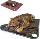 Rexa® Zelfverwarmende thermische deken voor honden 90 x 30 cm    Wasbaar kussen dieren deken hondendeken    Thermo mat hondenkussen dierenkussen