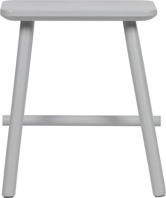 vtwonen Butt Kruk - Hout - Betongrijs - 46x40x30
