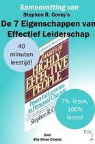 Samenvatting van Stephen R Covey's De 7 Eigenschappen van Effectief Leiderschap