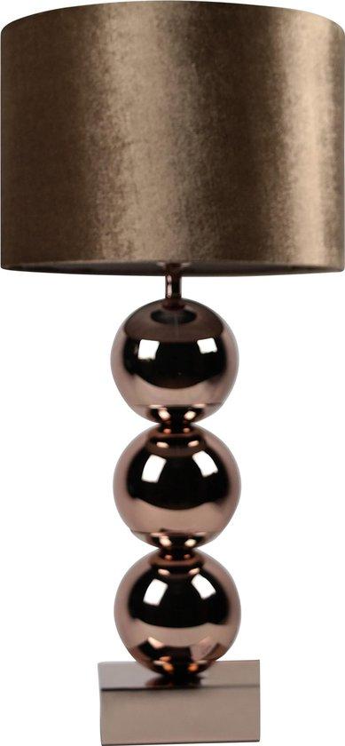 Bollamp - Brons - Tafellamp 3 Bollen - Eric Kuster Stijl