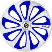 Sparco  Sicilia Zilver / Blauw - ABS