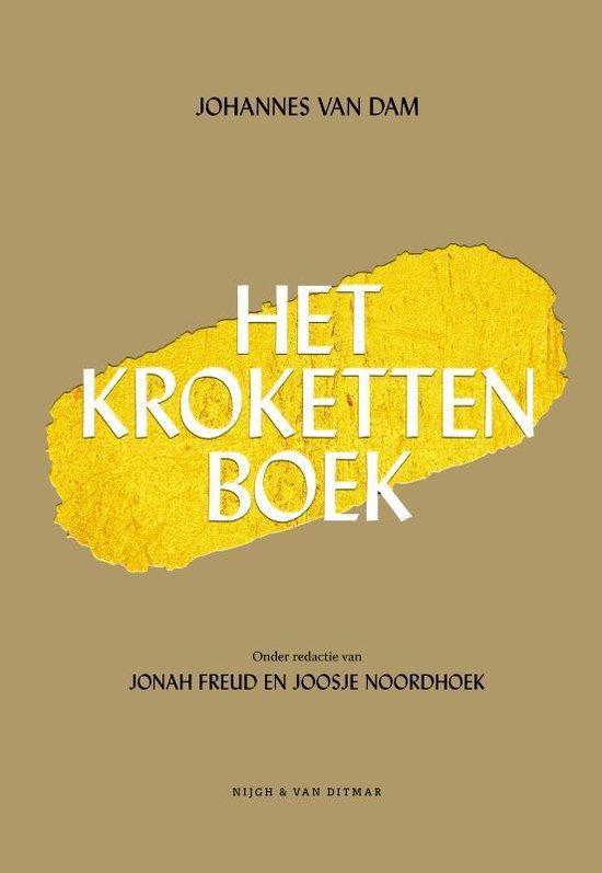 Boek cover Het krokettenboek van Johannes van Dam (Hardcover)
