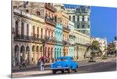 Kleurrijke Spaanse architectuur bij Cuba in Noord-Amerika Aluminium 30x20 cm - klein - Foto print op Aluminium (metaal wanddecoratie)