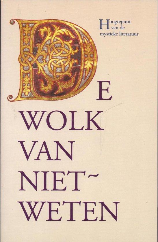 Boek cover De wolk van niet-weten van Peter Zegveld (Paperback)