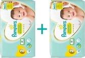 Pampers New Baby Luiers - Maat 2 - 4 tot 8kg - 82 stuks