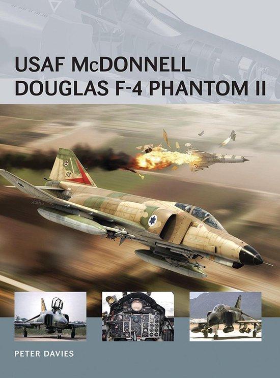 Boek cover USAF McDonnell Douglas F-4 Phantom II van Peter E. Davies (Onbekend)
