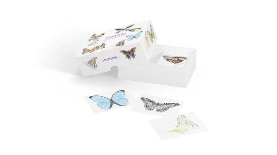 Vlinders - memospel - Christine Berrie |