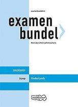 Boek cover Examenbundel havo Nederlands 2019/2020 van M. Reints