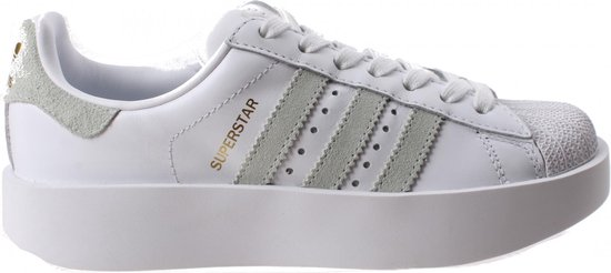 bol.com | Adidas Sneakers Superstar R Bold Dames Wit Maat 39 1/3