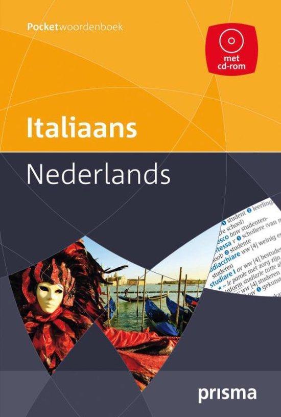 Prisma pocketwoordenboek Italiaans-Nederlands - L. Schram-Pighi |