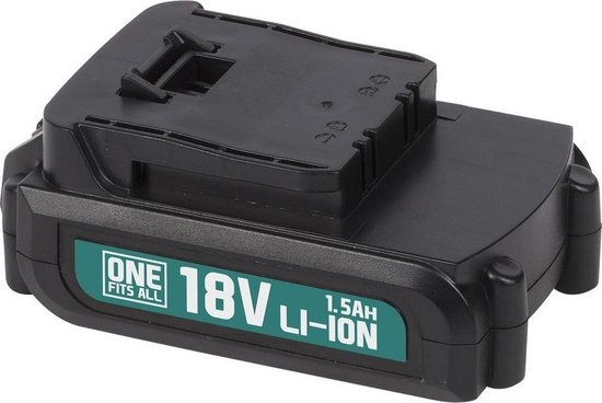 Powerplus One Fits All Accu - 18V Li-ion - 1.5 Ah