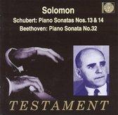 Beethoven, Schubert: Piano Sonatas / Solomon