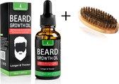 baardolie met kam - beard - oil  - 30 ml