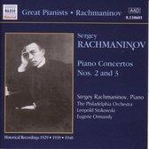 Rachmaninov Plays Rachmaninov - Piano Concertos No 2 ans 3