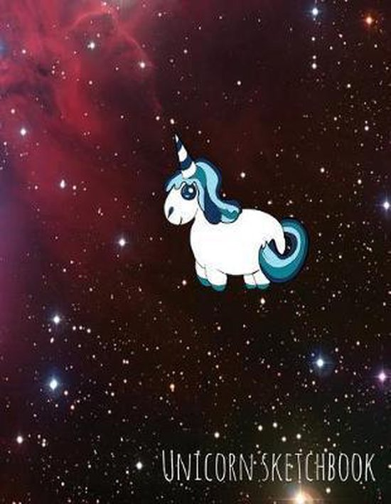 Unicorn Sketchbook: Star Wars Unicorn Space Trip