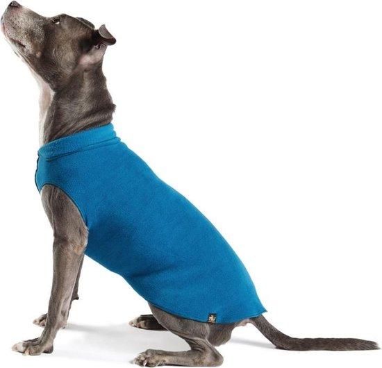 Goldpaw - Stretch Fleece Pullover - Rekbare Hondenjas/Hondentrui - Marine (blauw) - Maat 18 (15-30kg)