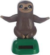 Luiaard dier dashboard figuurtje 10 cm - solar figuur dieren