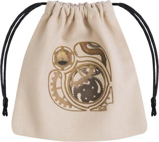 Afbeelding van het spel Steampunk dice pouch, naturel