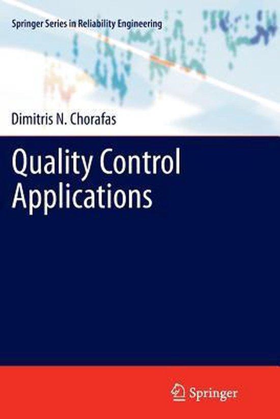 Boek cover Quality Control Applications van Dimitris N. Chorafas (Paperback)