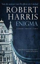 Boek cover Enigma van Robert Harris (Onbekend)