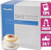 TimFit Eiwitdieet Maaltijdshake 18 Sachets - Cappuccino