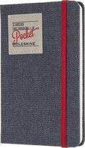 Moleskine agenda 2019 - 12 maanden - Wekelijks - Denim - Pocket - Hard cover