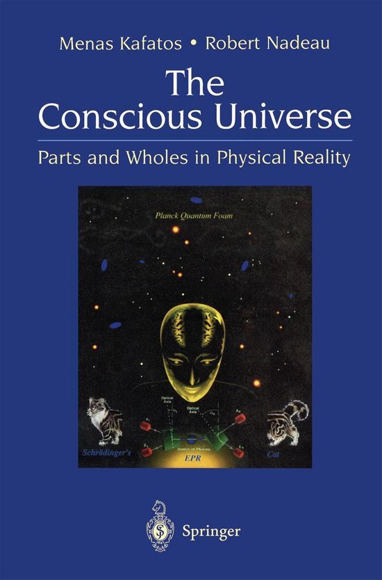 Boek cover The Conscious Universe van Menas Kafatos (Onbekend)