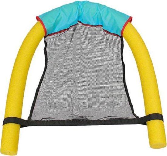 Drijvende zwembad stoel inclusief foam noodle