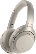 Sony WH-1000XM3 - Draadloze Bluetooth over-ear koptelefoon met Noise Cancelling - Zilvergrijs