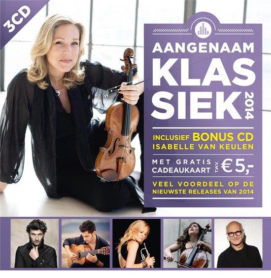 CD cover van Aangenaam Klassiek 2014 van Aangenaam Klassiek